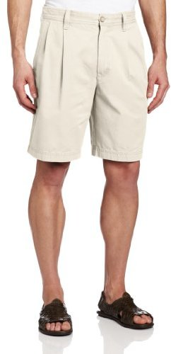 Izod Men's Saltwater Pleated-Front Short