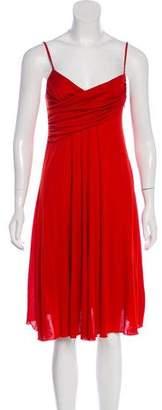 Galliano Sleeveless Midi Dress w/ Tags