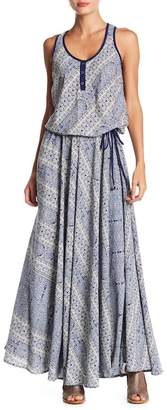 Raga Milos Patterned Maxi Dress