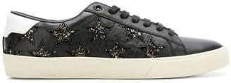 Saint Laurent glitter star sneakers
