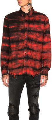 Amiri Cloud Plaid Shirt
