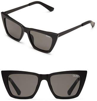 Quay Desi 150MM Exaggerated Cat Eye Sunglasses