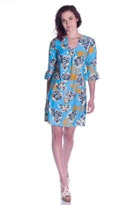 Aryeh Printed Shift Dress