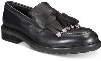 Roberto Cavalli Men Tassel Moc-Toe Loafers Men Shoes