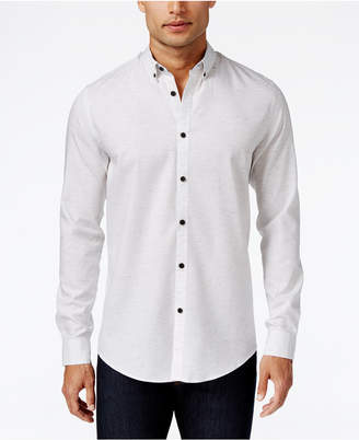 Alfani Men's Classic Fit Long-Sleeve Shirt, Created for Macy's