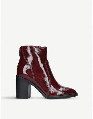 Kurt Geiger London Sly patent leather ankle boots