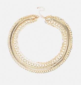 Avenue Multi Curb Chain Necklace