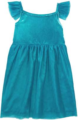 Crazy 8 Crazy8 Toddler Velour Tulle Dress