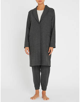 Hanro Urban Casuals wool-blend dressing gown