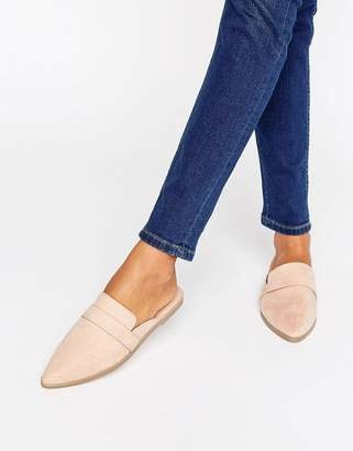 ASOS MAGGIE Flat Mules $28 thestylecure.com