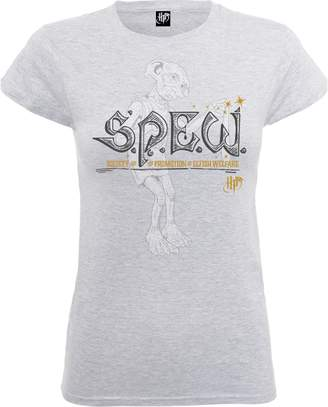 Harry Potter Society For The Promotion Of Elfish Welfare Women's Grey T-Shirt