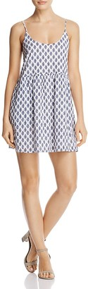Soft Joie Vadim Printed Mini Dress $198 thestylecure.com