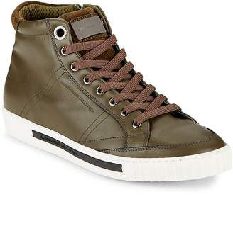 "Alessandro Dell'Acqua Alessandro Dell""Acqua Men's Lace-Up High-Top Sneakers"