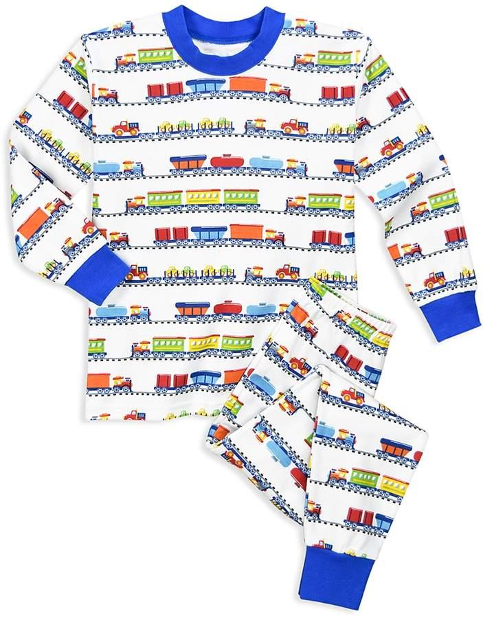 Boys' Freight Train Pajama Shirt & Pants Set - Little Kid