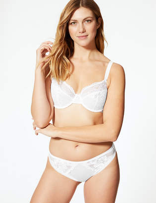 Marks and Spencer 2 Pack Louisa All Over Lace Non-Padded Full Cup Bras B-DD
