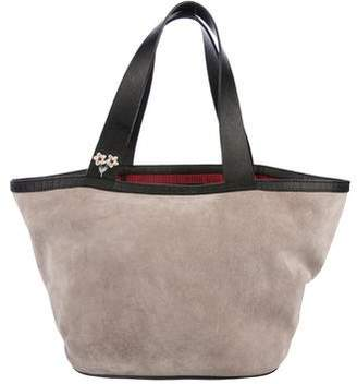 NewbarK Suede Medium Tote