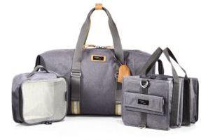 Storksak Travel Duffle Diaper Bag $200 thestylecure.com
