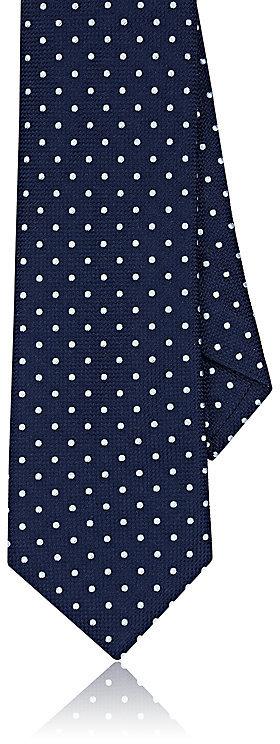 Barneys New YorkBarneys New York Men's Polka Dot Silk Necktie