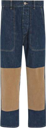 Loewe Knee Insert Jeans