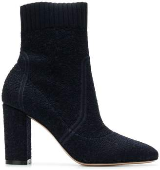 Gianvito Rossi round toe high ankle boots
