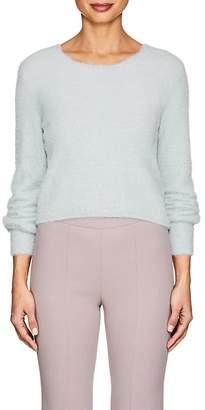 Giorgio Armani Women's Fuzzy Crop Sweater
