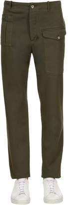 G・T・A 18.5cm Cargo Gabardine Cotton Pants