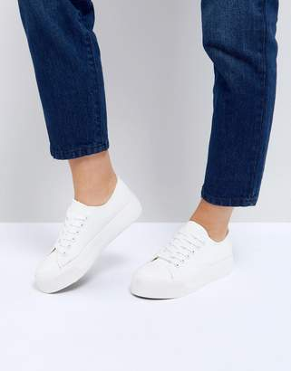 New Look Flatform Lace Up Sneaker