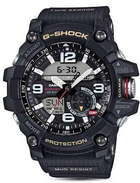 Casio G-Shock Mudmaster Analog/Digital Watch, 55.3mm