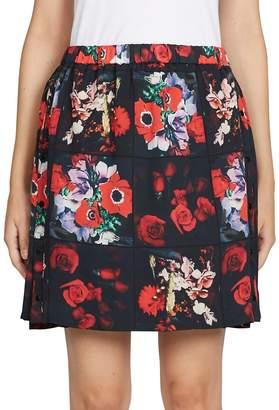 Kenzo Women's Antonio's Floral-Print Cotton Skirt
