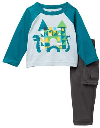 Tea Collection Lochness Baby Outfit (Baby Boys)
