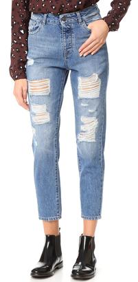 DL1961 Goldie High Rise Boyfriend Jeans $198 thestylecure.com