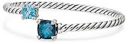 David Yurman Women's Châtelaine® Bypass Sterling Silver, Gemstone & Diamond Bracelet