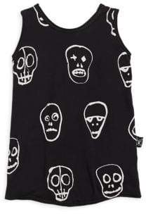 Nununu Toddler's, Little Boy's& Boy's Skull Mask Tank Top