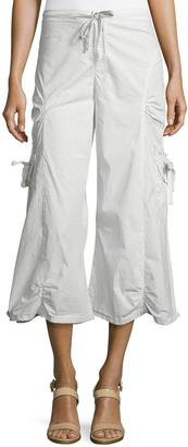 XCVI Ankle-Length Gaucho Pants, Alabaster $99 thestylecure.com
