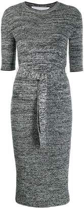 Victoria Victoria Beckham ribbed knit sweater dress