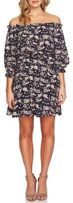 CeCe Ivy Off the Shoulder Dress