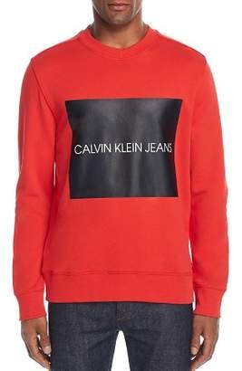 Calvin Klein Jeans Box Logo Graphic Sweatshirt