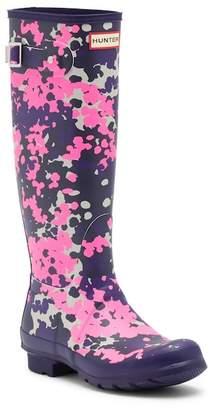 Hunter Tall Print Rain Boot