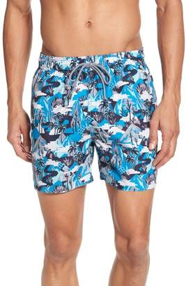 Ted Baker Karner Print Swim Trunks