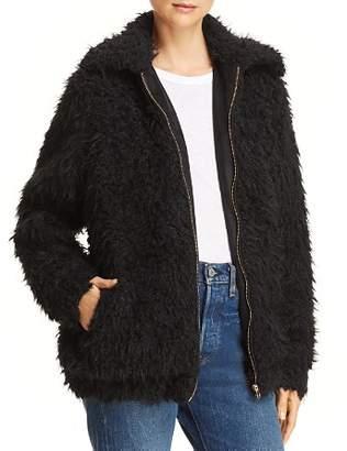 Show Me Your Mumu Sheldon Faux-Fur Jacket