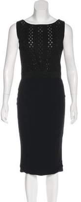 Giambattista Valli Paneled Midi Dress