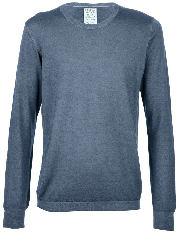 Original Vintage Style Classic wool sweater