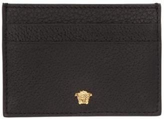 Versace Black Small Medusa Card Holder