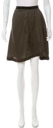 Etoile Isabel Marant Satin Mini Skirt