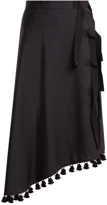 Altuzarra Basilica tassel-embellished midi skirt