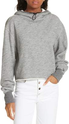 Rag & Bone JEAN Sweatshirt Toggle Hoodie