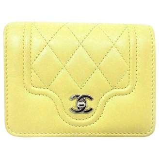 Chanel Yellow Other Purses, wallets & cases
