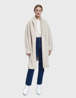 LAUREN MANOOGIAN Capote Shawl Coat in Hessian