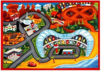 "Disney Pixar Disney / Pixar Cars 3 Jumbo Play Rug - 4'6"" x 6'6"""