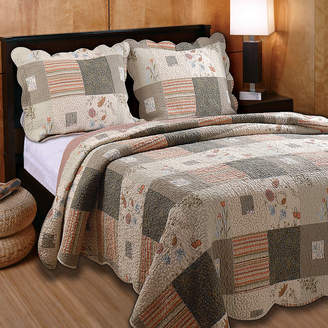 Greenland HOME FASHIONS Home Fashions Sedona Western Quilt Set
